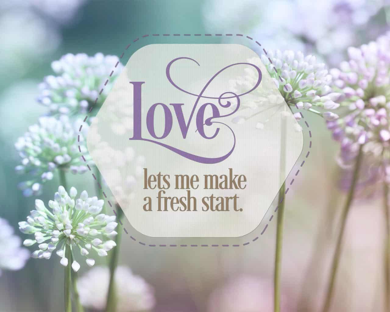 Love Fresh Start