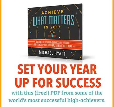 BestYearEver – Achieve What Matters in 2017 eBook