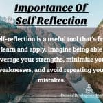 Importance Of Self Reflection – Happier and More Successful
