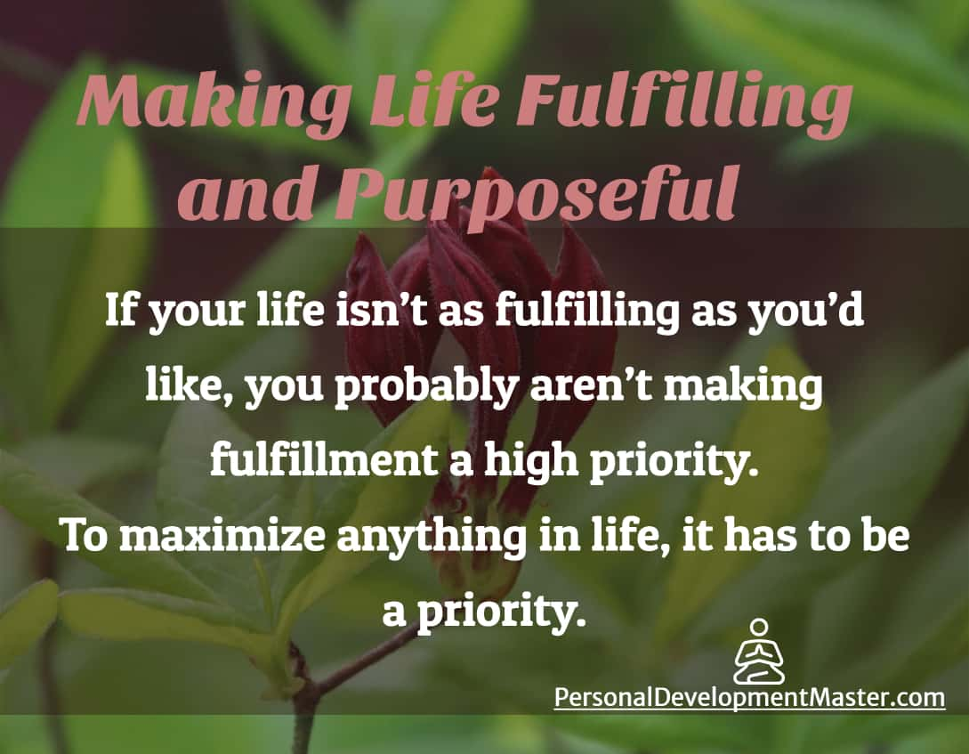 Fulfilling Purposeful Life