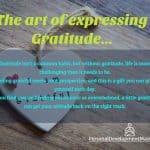 The Art of Expressing Gratitude