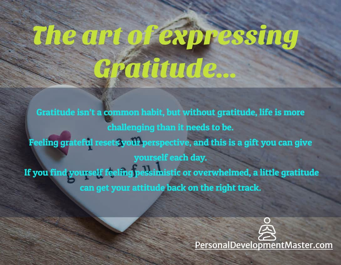 The Art of Expressing Gratitude
